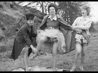 retro stockings Upskirt