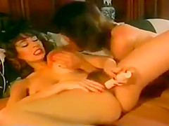 Christy Canyon and Nicole West FFM