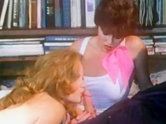 Retro Hairy  Redhead Lisa Deleeuw Shares Paul Thomas' Cock