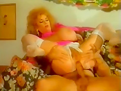 Vintage huge boobst mature Double anal