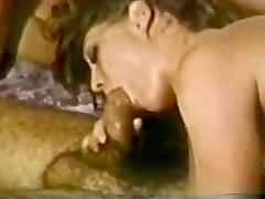 Vintage Groupsex On A Waterbed