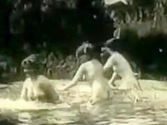 Vintage Erotic Movie 2 - No Swimming 1906