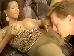 Vintage Ebony Huge Tits Devin Deray with Kyle Stone