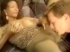 Vintage Ebony Huge Tits Devin Deray with Kyle Stone