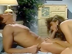 Vintage Busty Brunette Huge Cum Shot