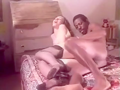 Vintage Bedroom Interracial