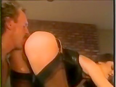 Two 80's babes Shagged
