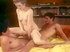 Triple Dicker - Billy Dee and 2 other fuck white chick