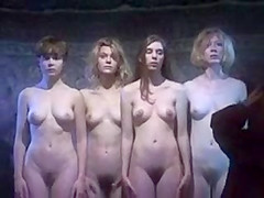 Beauties walking around naked