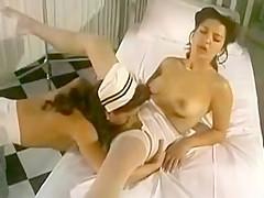 Sapphic retro style nurses