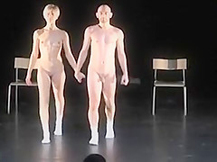 Nude Stage Performance 2 - Show Room Dummies