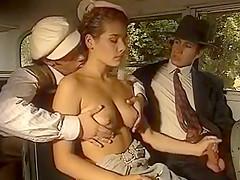 nice babe fucked in van