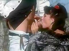 Luana Borgia blowjob in fur