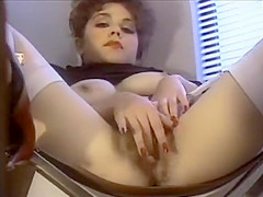 Kim Alexis masturbating