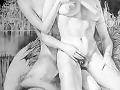 Erotic Drawings of Gerard Gachet