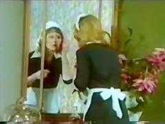 Classic vintage retro tiny tove clip maid orgy