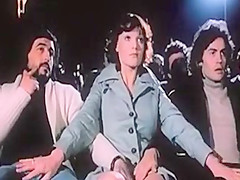 Clasasic French nympho picks up two men
