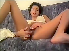 Anna from Sweden Alone w Dildos - 2 Orgasms