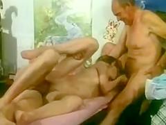 2 Opas und 1 girl