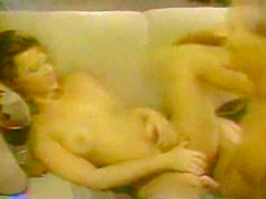 Horny vintage porn scene from the Golden Age