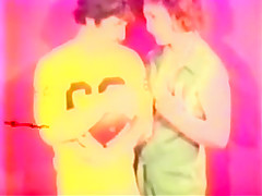 Crazy retro adult clip from the Golden Time