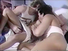 Fabulous retro sex scene from the Golden Time