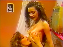 Exotic retro porn scene from the Golden Time