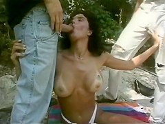 Incredible vintage porn scene from the Golden Age