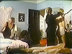 Horny retro adult clip from the Golden Century
