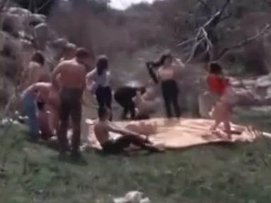 Vintage Nudist Movie - The Raw Ones 1965