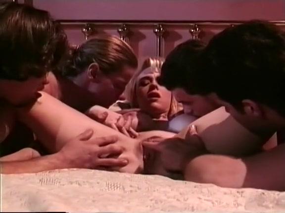 Naked asian men in bed
