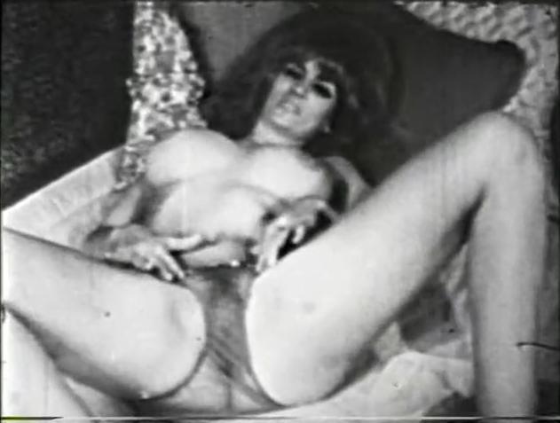 Ретро порно фото в ажурном 75302 фотография