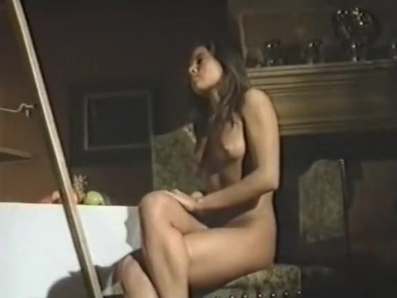 Solange dancing in seamed stockings 10